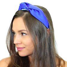 Kristin Perry Silk Top Knot Headband