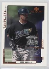 2000 Upper Deck MVP All-Star FanFest #AS11 Greg Vaughn Tampa Bay Rays Card