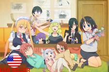 "Miss Kobayashi's Dragon Maid Quetzalcoat 36"" x 24"" Large Wall Poster Print Anime"