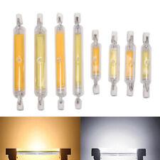 1pc R7S COB LED Lamp Bulb Glass Tube for Replace Halogen Light 78mm/118mm