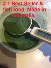 Algae wafers powder - Spirulina  - super fish food