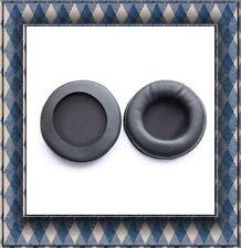 LEATHER Ear cushion 90mm Pads per sony mdr v700 Alta Qualità Nero * Nuovo