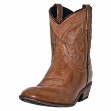 "Dingo Western Boots Womens Willie Antique 6"" Shaft Collar Tan DI 862"