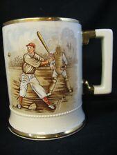 Vintage Ceramic Baseball Stein