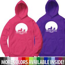 Lion King Hakuna Matata Funny Pullover Hoodie Sweater Hooded Unisex Sweatshirt