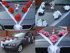 VARIANTEN Auto Schmuck Braut Paar Rose Deko Dekoration hochzeit autoschmuck