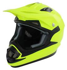 Nuevo Karting del Casco Adulto Fluoro Amarillo Go Kart Carrera de ocio Carro ACU oro