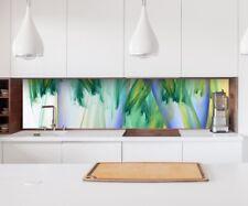 Aufkleber Küchenrückwand 3D Effekt Farben abstrakt Kunst Spritzschutz 22A179