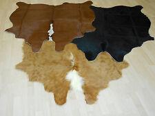 AUTHENTIQUE FOURRURE de taureau peau vache bœuf cuir Tapis véritable neuf
