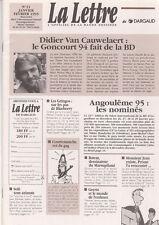 La lettre de Dargaud n°21 - Druillet, Bob Morane...