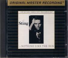 Sting Nothing Like The Sun MFSL Gold CD UDCD 546 UII ohne J-Card