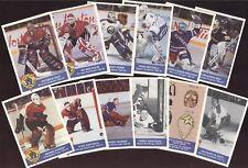 1993-94 HIGH LINER GREATEST GOALIES NHL HOCKEY CARD SEE LIST