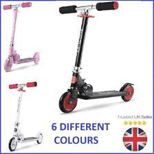 2 Wheeled Folding Kids Children's Street Scooter New