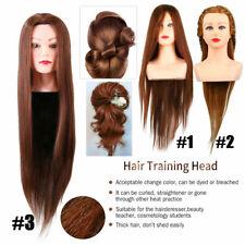 Hair Mannequin Head Hairdresser Hair Styling Braiding Hairdressing Training Head