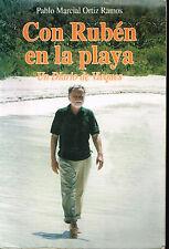Pablo Marcial Ortiz Ramos Con Ruben en la Playa Un Diario de Vieques Puerto Rico