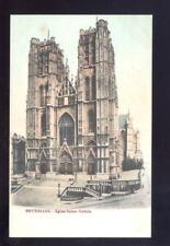 Belgium BRUXELLES Saint Gudule very early u/b PPC