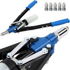 Pince à riveter - riveteuse - 5 rivets clé à rivet et récipient de collecte