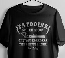 Tatooine Speed Shop Landspeeder Star Wars Inspiré T-Shirt T-shirt Tee S-XXL
