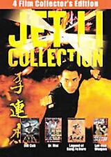 The Jet Li Collection Dvd 2-Disc Set Evil Cult Dr. Wai Legend of Kung Fu Hero .