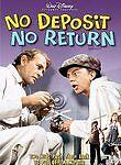 NO DEPOSIT, NO RETURN (NEW DVD)