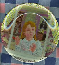 Davenport Collector Plate Linda Worrall The Star COA Bo