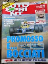 Autosprint 33/34 1990 Mc Laren Ferrari - Senna Capelli