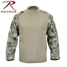 Rothco 90009 Military Combat Shirt - Total Terrain Camo
