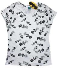 Batman Logo con Gotham Estampado Todo Mujer Camisetas