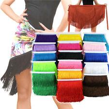 "10Yards Tassel Fringe Trim 20CM/8"" Drop Chainette Polyester Trim Latin Dress DIY"