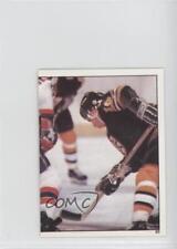 1982-83 Topps Album Stickers #93 Barry Pederson Boston Bruins Rookie Hockey Card
