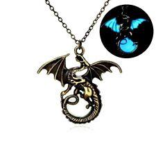 Game of Thrones Daenerys Targaryen Dragon en Acier Inoxydable Hommes Collier Pendentif