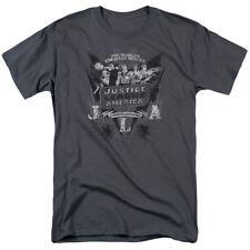 DC GREATEST HEROES T-Shirt Men's Short Sleeve
