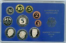 BRD  DM-Kursmünzensatz PP  Wählen Sie unter : 1974 - 1990 und DFGJ)