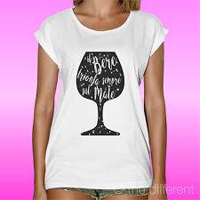 T-Shirt Il Bere Triomphes Sul Mal Idée Cadeau