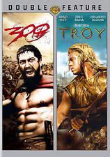 300 & Troy (DVD, 2012, 2-Disc Set)Brand New