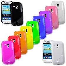 Handy Silikon Case für Smartphone TPU Tasche Schutz Hülle Cover Bumper Schale