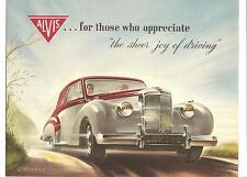 Alvis   Folder  3 Litre Convertible Coupe By Tickford  Circa 1953