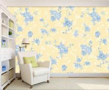 3D Blue flower plants 990 Wall Paper Wall Print Decal Wall AJ WALLPAPER CA