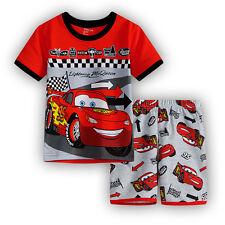 BNWT top Disney Cars Tshirt boys Pyjamas 100/% cotton t-shirt 3//4 pants size 4