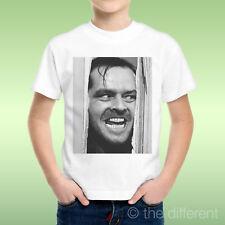 camiseta Niño Brillante Film Jack Nicholson Divisiones Soporte Idea De Regalo