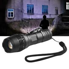 3500LM 5 Mode XML T6 Outdoor Lighting Telescopic Flashlight LED Military UP