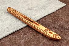 Nouveau sare blanchard en bois cuir brunissoir 195mm. bord finishing tool