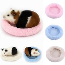 Cute Guinea Pig Bed Winter Animal Mat Hamster Hedgehog Sleeping House S-L
