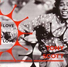 TONY SCOTT Love Let INSTRUMENTAL &DUB & 12 INCH VERS MINI 3 Inch CD single CD3