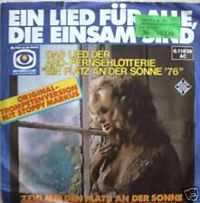 """7"""" 1976 STOPPY MARKUS Ein Lied für alle die einsam sind"""