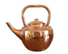 Cheftor Heavy Gauge Solid Copper Classic Traditional Tea Kettle Pots
