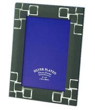 "BLACK & SILVER Cornice foto 4x6 "", 5x7"", 6x8 "" & 8x10"""