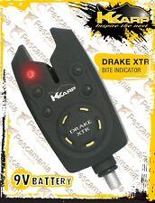 avvisatore acustico digitale carp fishing rod pod K-karp Drake XTR Bite Alarm 9V