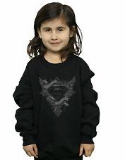 DC Comics Girls Superman Wings Logo Sweatshirt