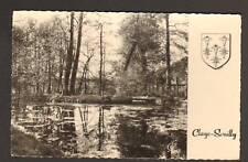 CLAYE-SOUILLY (77) ETANG DU PARC & BLASON en 1960